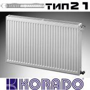 KORADO Radik, panel steel radiator type 21, 900x1200 - 2696W
