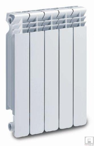Алуминиев Радиатор, Хелиос, глидер H800mm - 237W/гл.