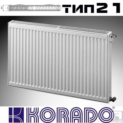 Панелен Радиатор KОРАДО Радик тип 21, 600x600 - 985 W