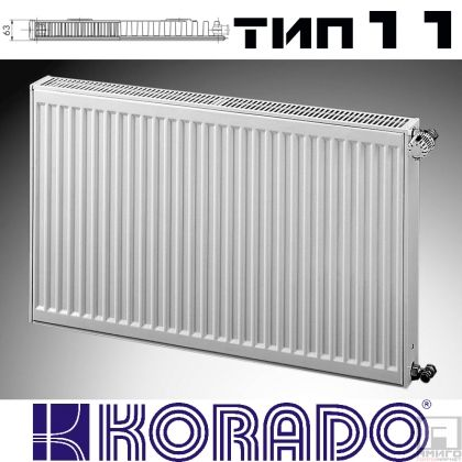 Панелен Радиатор KОРАДО Радик тип 11, 500x600 - 654W