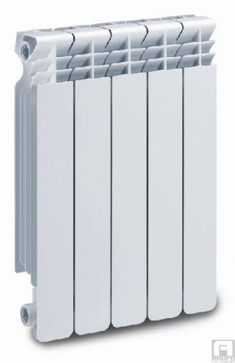Алуминиев Радиатор, Хелиос, глидер H600mm - 194W/гл.