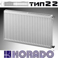 Панелен Радиатор KОРАДО Радик тип 22, 400x400 - 620W
