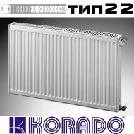 Панелен Радиатор KОРАДО Радик тип 22, 600x1200 - 2570W