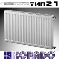 Панелен Радиатор KОРАДО Радик тип 21, 600x1200 - 1970 W