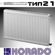 Панелен Радиатор KОРАДО Радик тип 21, 600x2000 - 3284 W