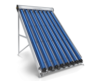 Evacuated Tube Solar Collector, 8 Pipes