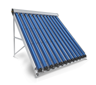 Evacuated Tube Solar Collector, 12 Pipes