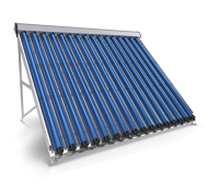 Evacuated Tube Solar Collector, 16 Pipes